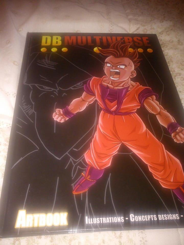 Art book dragon ball Multiverse