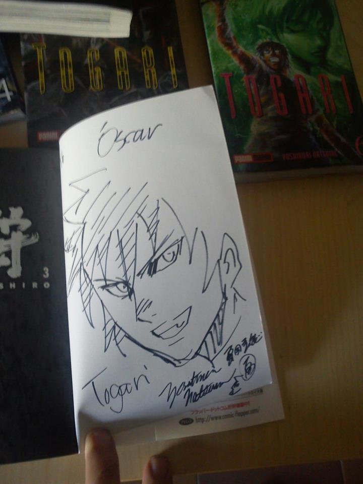 Volumen Togari Shiro 3 dedicado